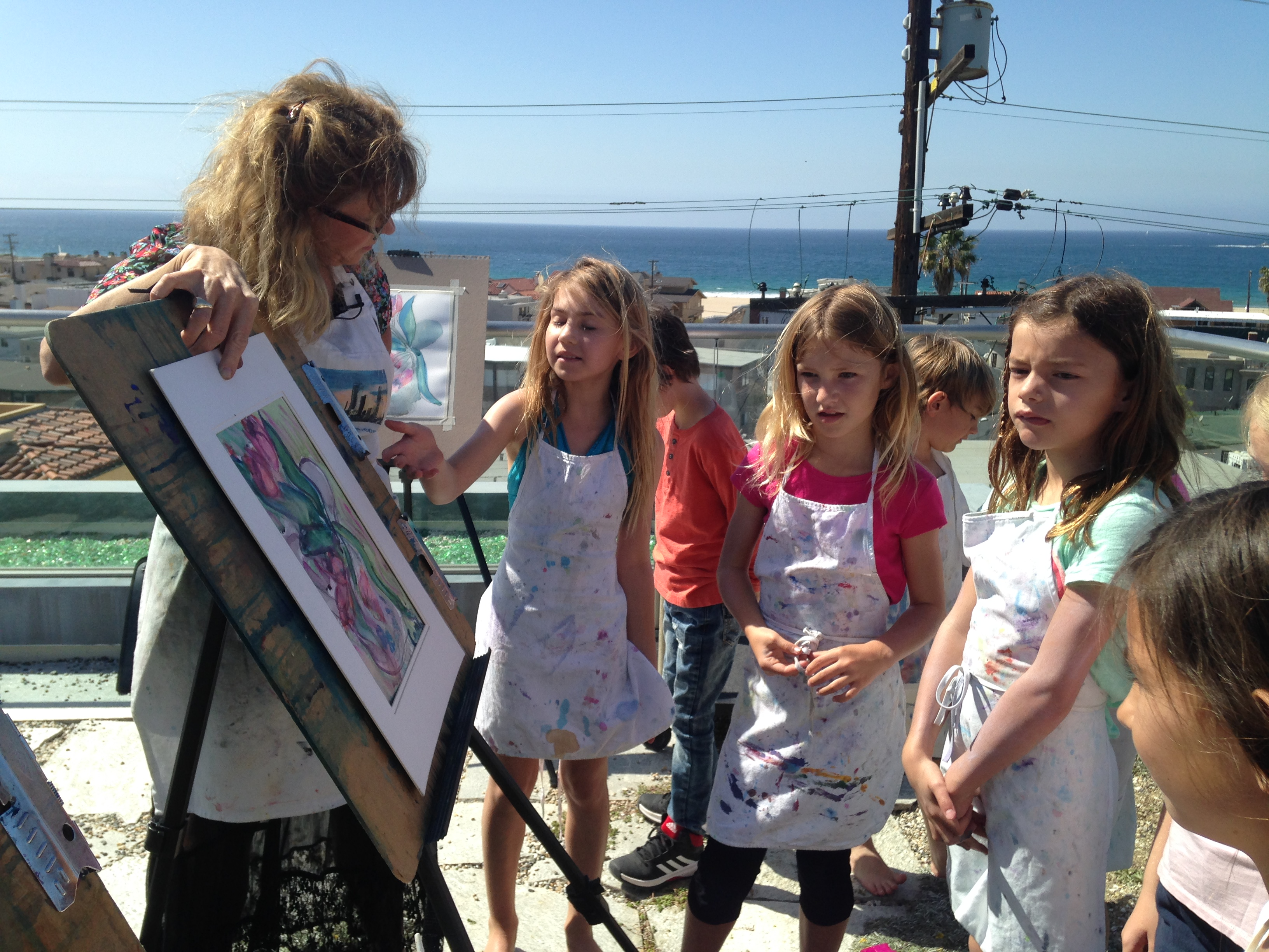 """Lily's """"Young Artist Party"""""""