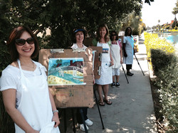 """Venice Canals """"Location Painting"""""""