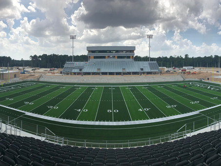 Spring ISD Stadium Progress 08/08/19