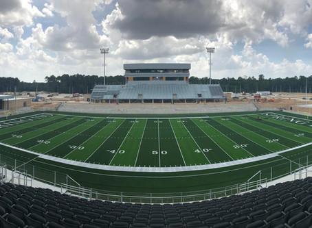 Spring ISD Stadium Progress 08/08/19