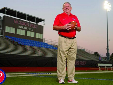EnviroTurf interview with Coach Ricky Black (National High School Football Coach of the Year)!