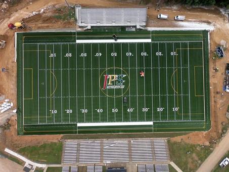 EnviroTurf completes the Jackson Public School Stadium synthetic field!