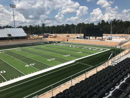 Spring ISD Stadium Progress Day 4