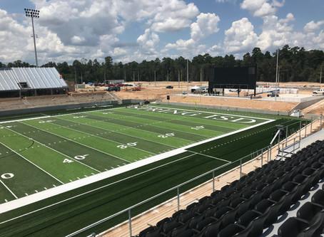Spring ISD Stadium Progress Day 4
