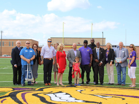 Spoor Field Ribbon Cutting