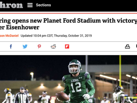 Planet Ford Stadium Opens with Spring HS Victory Over Eisenhower