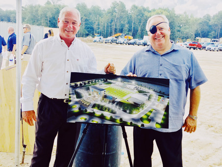 """EnviroTurf Is Proud To Be A Contributor Towards This Monumental """"Groundbreaking Ceremony"""""""