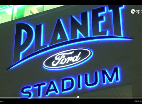 Spring ISD Tweets Video of New Planet Ford Stadium's Opening Night