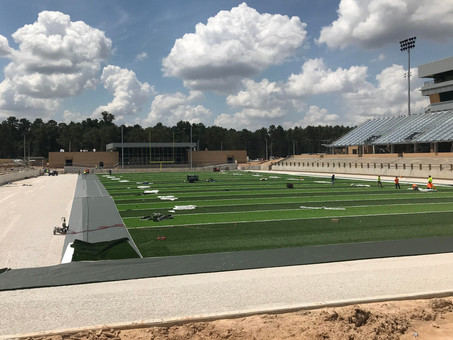 Spring ISD Stadium Progress Day 2-3