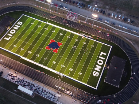 The Wait is Over!  Minneapolis High School's Football Field is Complete! (Minneapolis, KS)