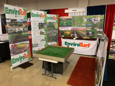 EnviroTurf was a proud vendor attendee at this week's Texas High School Baseball Convention.