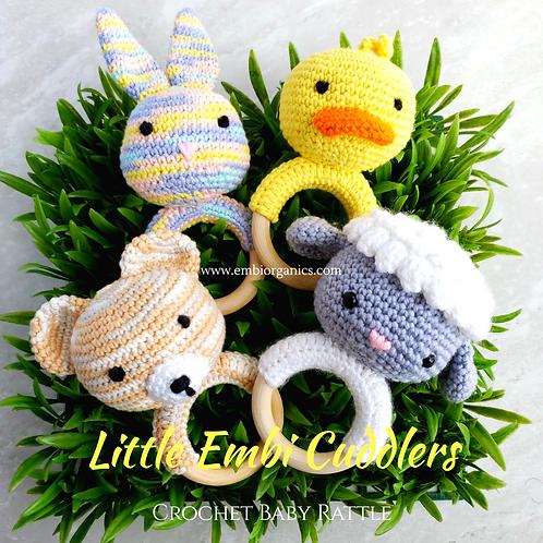 Little Embi Cuddlers - Crochet Baby Rattle