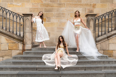 Wedding Gown Designs by Judith Penak Couture