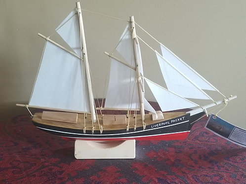 """347 """"Liverpool Packet"""" Boat Model"""