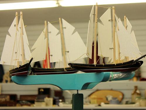 682 4 Boat Schooner Whirligig