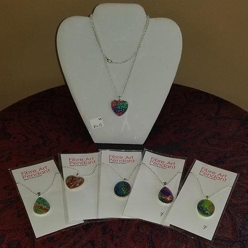 """""""Fibre Art"""" Necklace"""