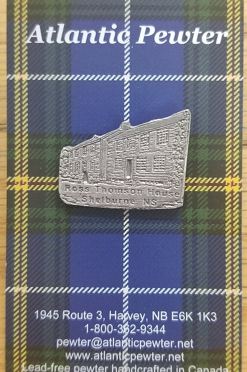 "1141""Ross-Thomson House"" Lapel Pin"