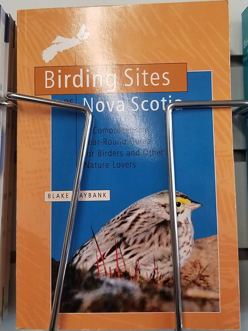 "19 ""Birding Sites of Nova Scotia"" Book"