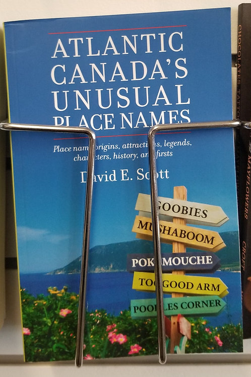 "423 ""Atlantic Canada's Unusual Place Names"" Book"