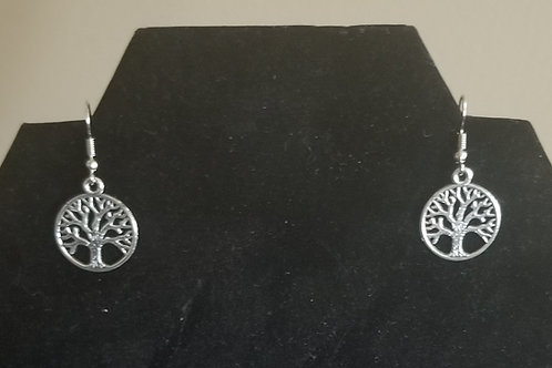 "737 ""Tree of Life"" Earrings"