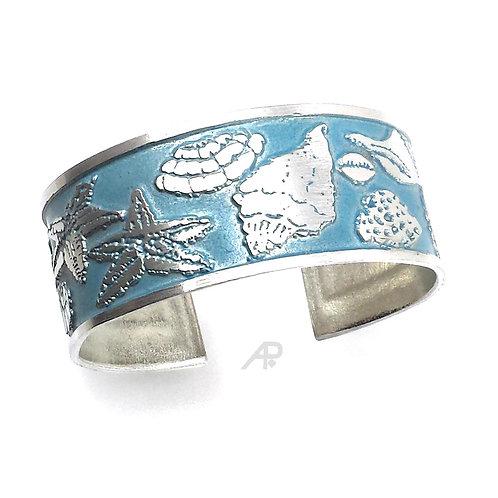 "1138 ""Seashells"" Cuff Bracelet"