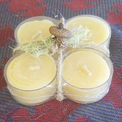 "1095 ""Tealight"" Beeswax Candle"