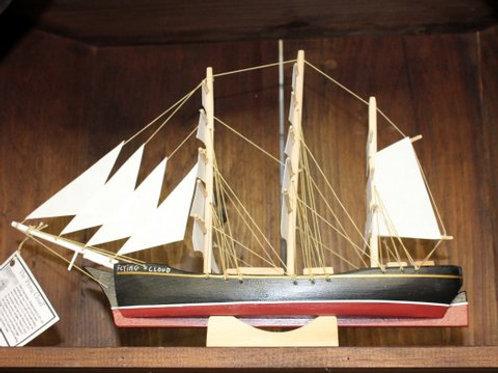 """677 """"Flying Cloud"""" Boat Model"""