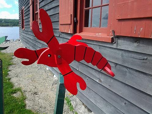 637 Baby Lobster Whirligig