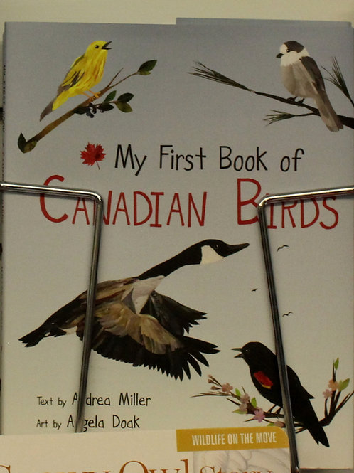 "718 ""My First Book of Canadian Birds"" Book"