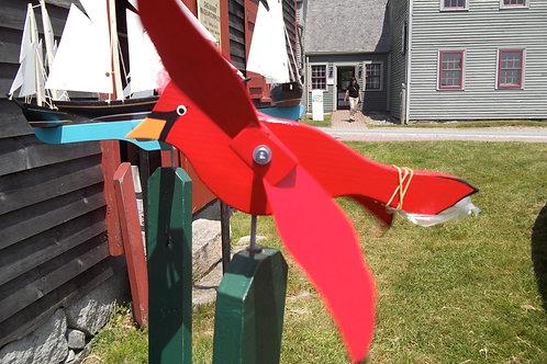 696 Cardinal Whirligig