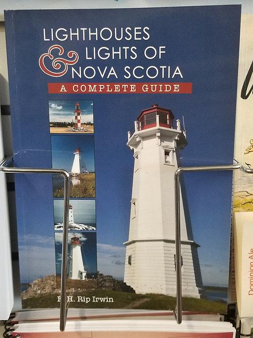 """128 """"Lighthouses & Lights of Nova Scotia"""" Book"""