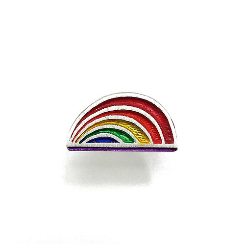 "832 ""Rainbow""Lapel Pin"