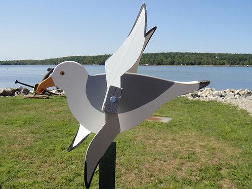 698 Seagull Whirligig