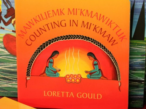"""894 """"Counting In Mi'kmaw"""" Book"""