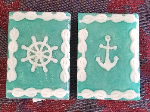 "153 ""Wheel & Anchor"" Handmade Soap"