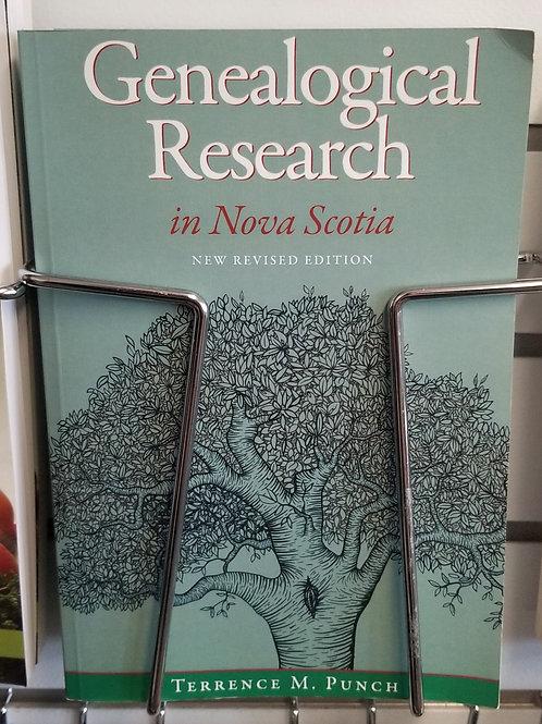 """8 """"Nova Scotia"""" Genealogical Research Book"""