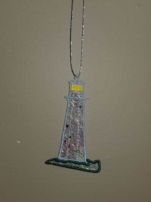 """65 """"Lighthouse"""" Shimmer Ornament"""