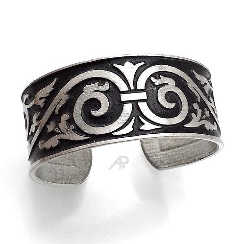 """1138 """"Regency"""" Cuff Bracelet"""