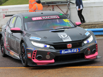 FRONT-ROW START FOR COOK AND BTC RACING FOR OPENING RACE OF BTCC SEASON