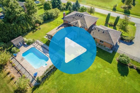 Video tour with Aerial video