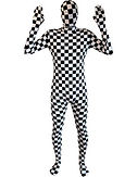 Chequered Morphsuit