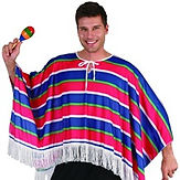 Mexican Male Poncho