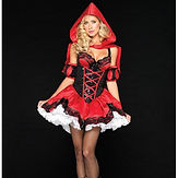 Leg Avenue Red Riding Hood - Deluxe