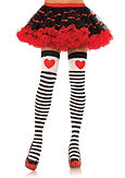 Red Queen Heart Stockings
