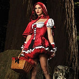 Leg Avenue Deluxe Red Riding Hood
