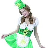 St Patricks Lady Costume