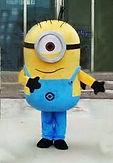 Minon Hire Mascots Townsville