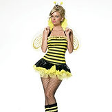 Leg Avenue Queen Bumble Bee