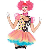 Leg Avenue Sweetheart Harlequin Clown