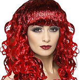 Red Curl Wig